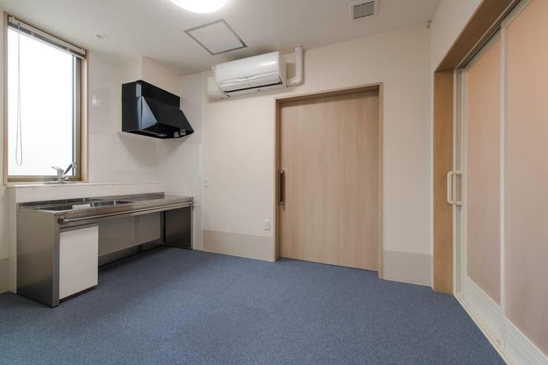 100号室兼管理人室-100号室兼管理人室 キッチン
