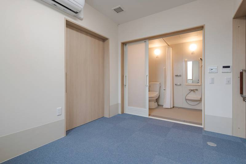 100号室兼管理人室-100号室兼管理人室 浴室入口