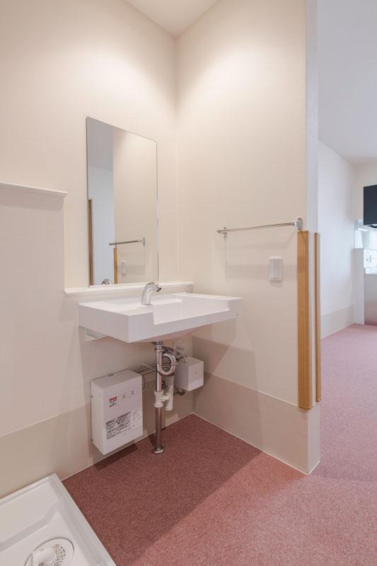101号室-洗面所