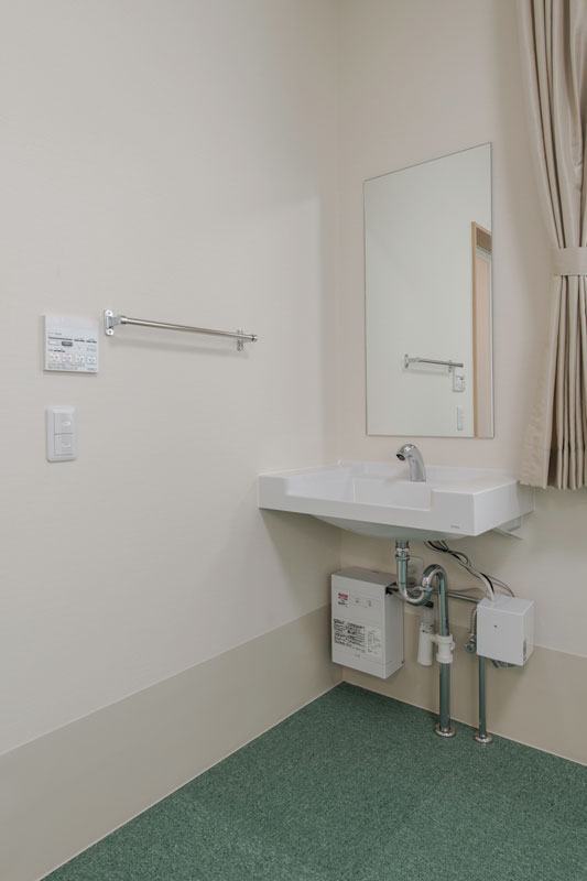 203号室-洗面所